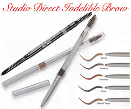 LONG LASTING WATERPROOF INDELIBLE BROW LINER PENCIL SMUDGE PROOF W BRUSH... - $11.89+