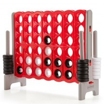 Jumbo 4-to-Score 4 in A Row Giant Game Set for Outdoor Indoor - £152.08 GBP