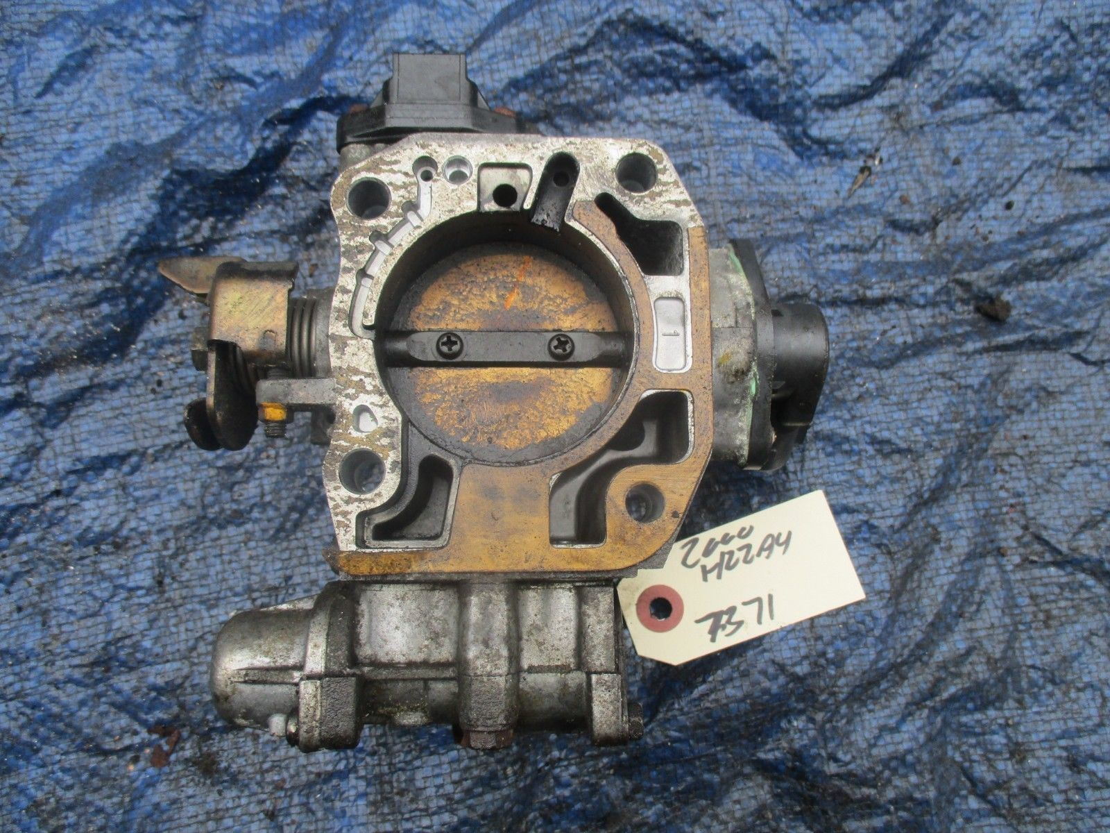 97-01 Honda Prelude bare H22 throttle body assembly OEM H22A H22A4 VTEC P13 7371