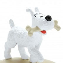 Snowy with a bone  resin figurine Official Tintin product image 1