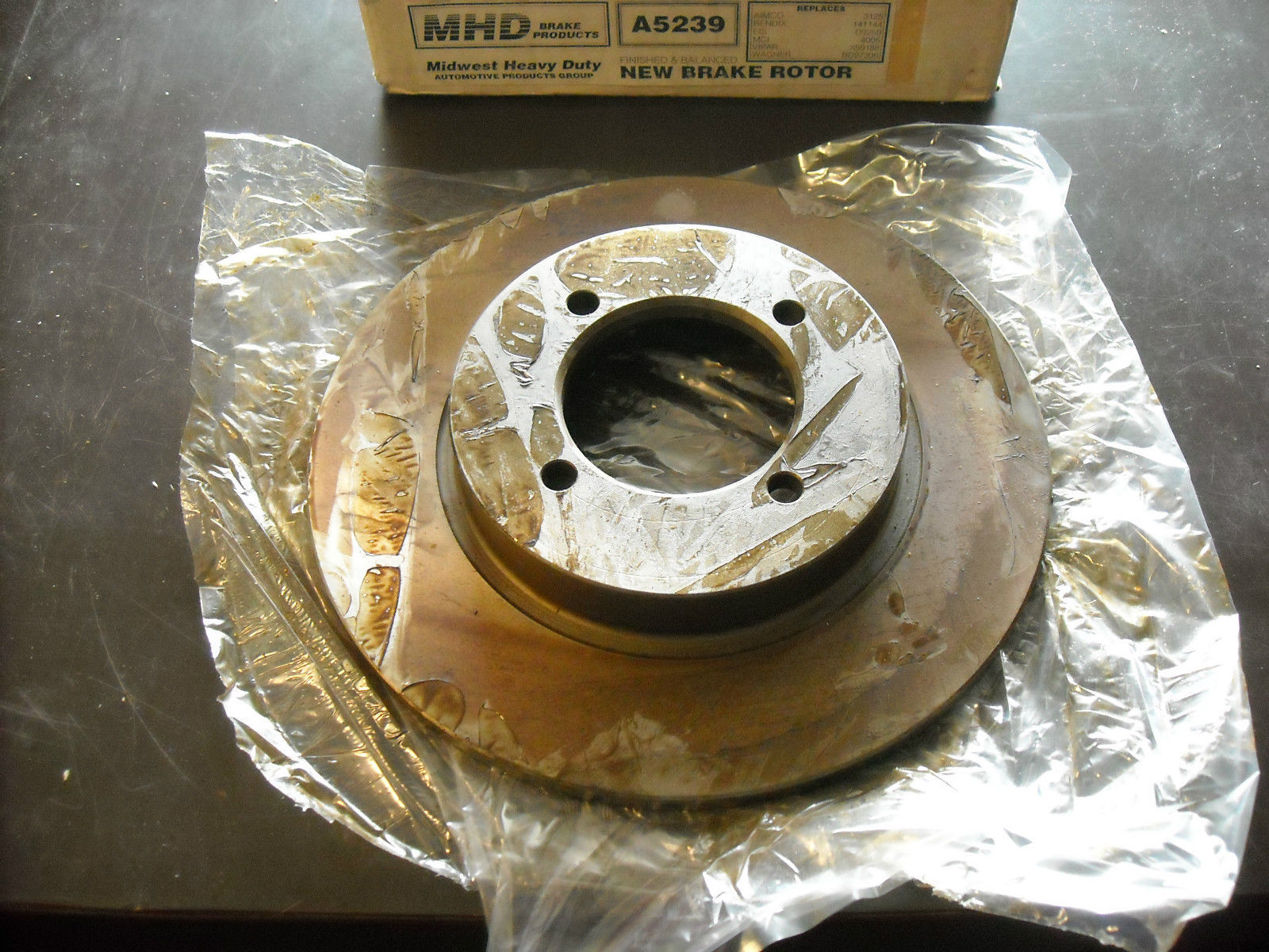 Primary image for Nissan Brake Rotor MHD #A5239, new (fits 200SX, 510, 610, 710, B210, 210)