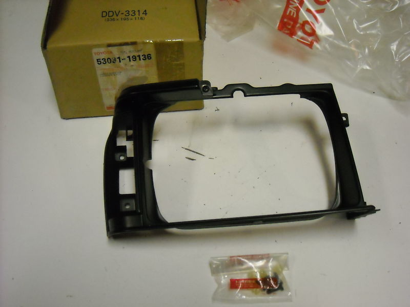 Primary image for Toyota Tercel, Headlamp Door, RH, 53031-19136, new, SR5