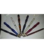 Hand Crafted Ball Point Pens Assorted Colors And Designs - $39.95