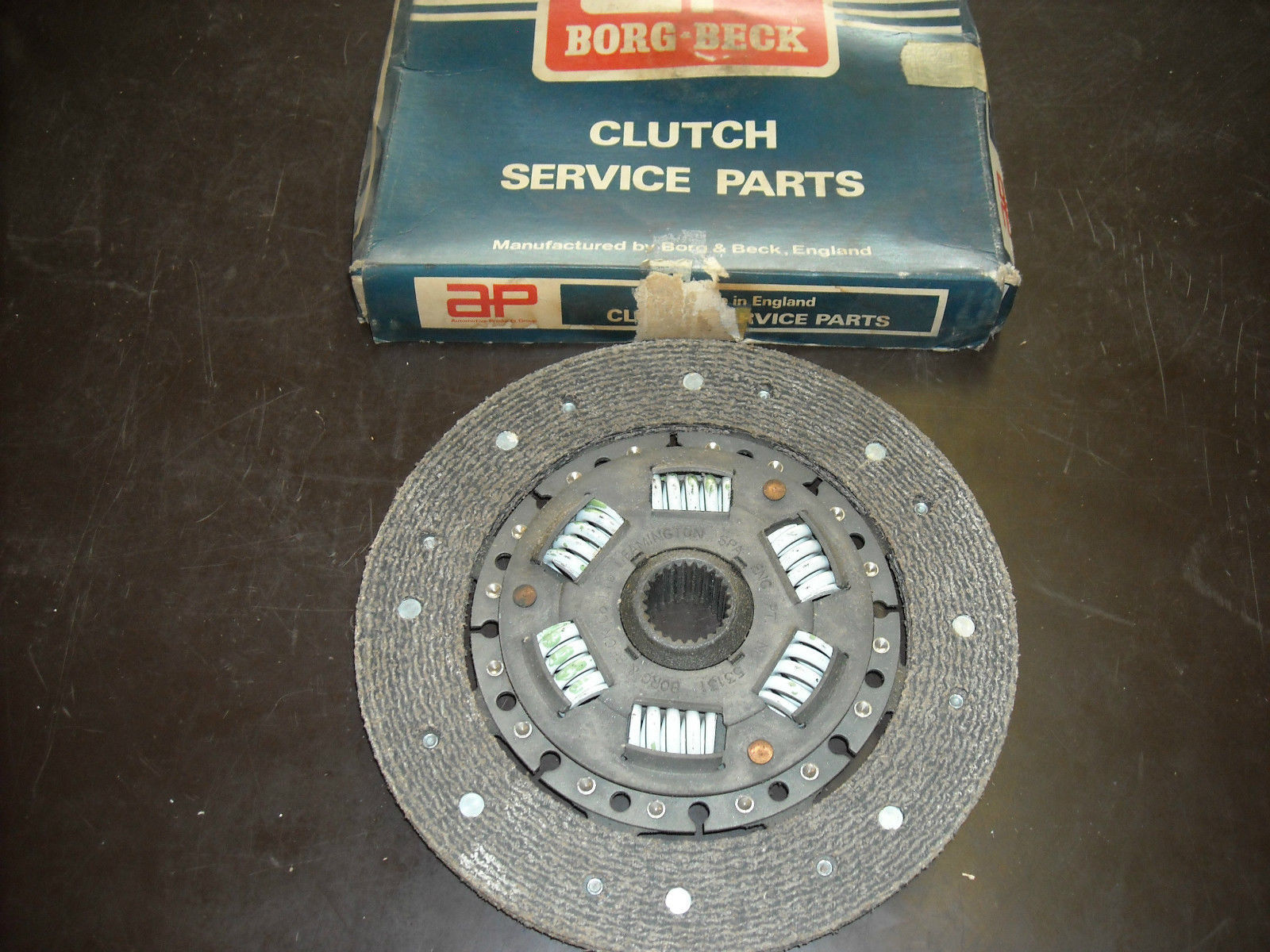 Primary image for Sunbeam Clutch Disc AP Borg & Beck # HB 1508 (new, fits Arrow 69-70)