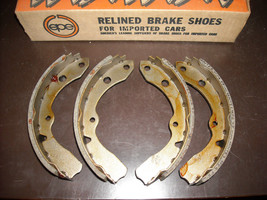 Toyota Brake Shoes EPE # 10201 (reman., fits Corolla,     front ) - $20.00