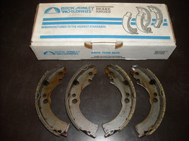 Nissan Brake Shoes Beck Arnley #081-2222 (reman., fits Pulsar, Sentra) - $15.00