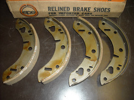 MG Brake Shoes Vera part # 35-01128 (reman., fits MG 1100 rear) - $40.00