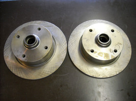 VW Brake Rotors (new, pair of front rotors for VW 412) - $175.00