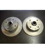 VW Brake Rotors (new, pair of front rotors for VW 412) - $175.00
