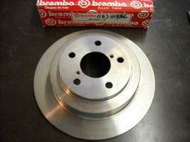 Brembo Brake Rotor 08.6897.10 (new, rear, fits Subaru Impreza, Legace) - $75.00