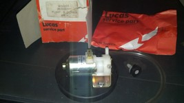 Nos Genuine Lucas 12v Landrover Mini Mg Washer Pump And Cover Wsb105 - $80.00