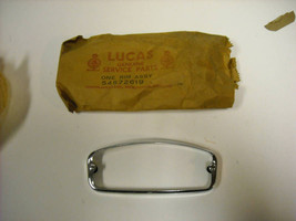 Lucas Front Turn Signal Lamp Rim, Chrome, PT# 54572619 - $26.50