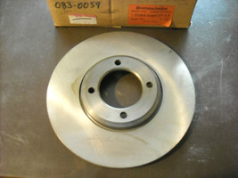 Ford Brake Rotor Beck Arnley #083-0059, new (fits Capri, Capri II) - $35.00