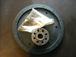 Jaguar XJ6 Flywheel Flexplate w/ spacer plate & bolts, used (fits 90-97 XJ6) - $50.00