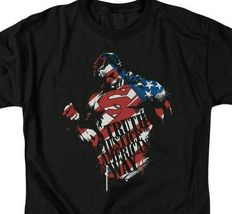 Superman T-shirt Patriotic Truth & Justice DC comics graphic tee SM1855 image 3