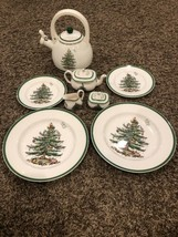 Lot- Spode Christmas Tree Made In England [Mint] +bonus - $123.75