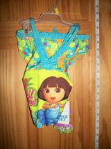 Dora The Explorer Baby Clothes 3T Toddler Girl Swimsuit Bikini Bathing Swim Suit - $14.24