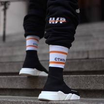 3PAIRS Heron Preston Crane Socks Sexual Men Vetements Off White Skateboard SOCKS image 4