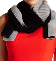 Kate Spade New York Scarf Colorblock Wool Knit NEW - $87.12