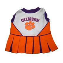 Pets first Clemson Cheerleader Dog Dress Small 1288-23508001287-S - $22.55
