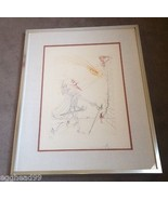SALVADOR DALI Signed & Numbered LIMITED ED. AQUATINT ETCHING CYRANO LITH... - $8,888.88
