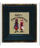 Happy Halloweenies cross stitch chart Bent Creek  - $6.75