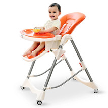 Portable Folding Baby Kids Highchairs Seat Baby Dinner Table Booster Sea... - $214.54