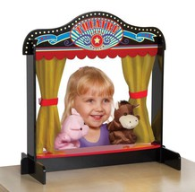 Guidecraft Act One Tabletop Theater Kids Wooden Puppet Pretend Play Toy NEW - $37.99