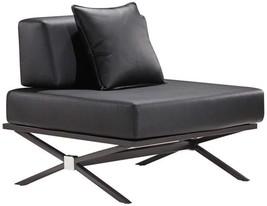 Zuo 500182 Xert Modular Chair in Black - $558.00