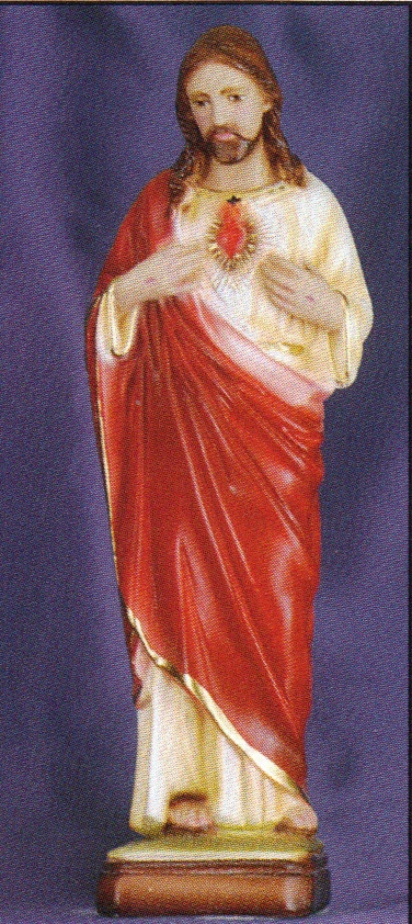 Sacred heart of jesus 12 inch statue