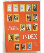 National geographic Index 1947 – 1976 book - $9.99