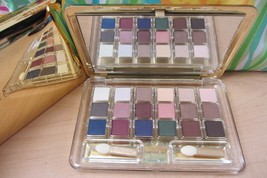 Gold Estee Lauder Deluxe Pure Color 18 EyeShadow Compact Palette Chocola... - $35.63