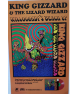 King Gizzard & the Lizard Wizard 12 Bar Bruise 11 x 17 Soft Promo Poster... - $6.95