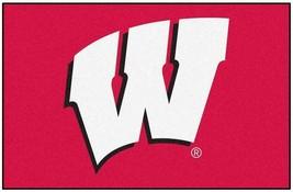 "Fanmats NCAA Wisconsin Badgers Rookie Mat, Area Rug, Bath 20""x30 Del. 2-4 Days - $16.82"