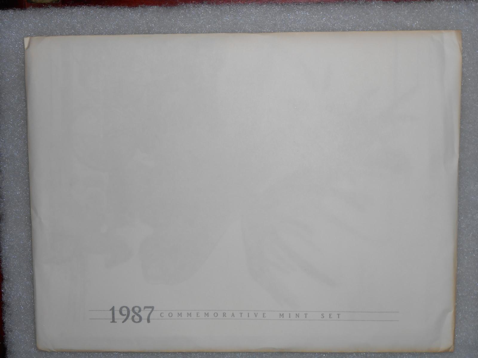1987 Commemorative Stamp Set USPS
