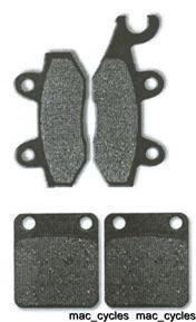Husqvarna Disc Brake Pads WEX610 1992 Front & Rear (2 sets)
