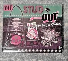 DIY Stud Out : cross body bag & clutch NEW in box RARE Fun art & craft g... - $9.65