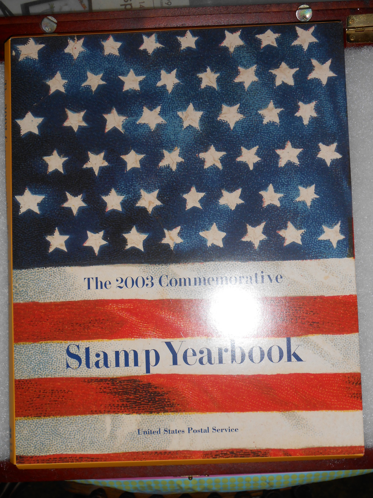 2003 Commemorative Stamp Yearbook USPS