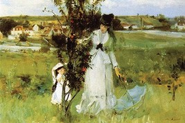 Hide and Seek by Bertha Morisot - Art Print - $19.99+