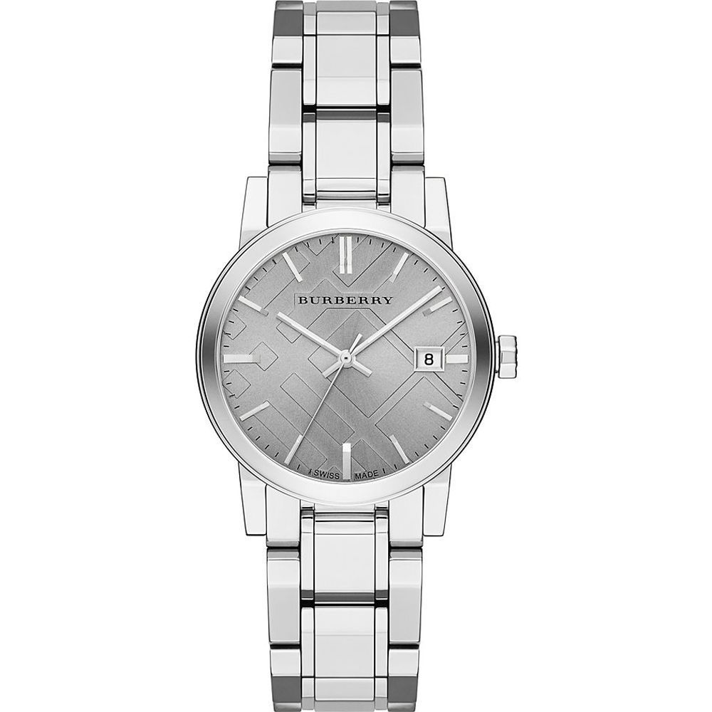 Primary image for BU9143 Burberry The City Women Watch 34mm Silver Dial Stainless Steel