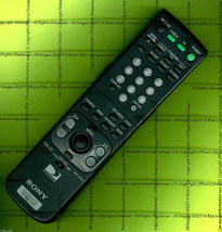 RM-Y802 REMOTE ✚ Programming Codes to Sony TV, VCR, DVD, AMP Receiver SA... - $9.95