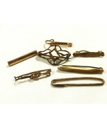 Antique Vintage Victorian lot of 7 Gold filled small pins for wear or re... - $29.70