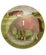 Danbury Mint Morning on the Farm horse plate by Donald W Patterson HJ212 - $40.09