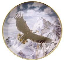 Franklin Mint On Freedoms Wings Ronald Van Ruyikwett eagle plate HJ220 - $40.09