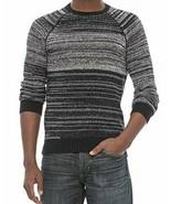 Michael Stars Men's 100% Cotton Knit Sweater, Large, Black/Ivory NWT - $25.00