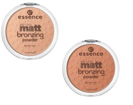 Essence Sun Club Matt Bronzing Powder 2 Shades For Lighter or Darker Skin 15g - $9.88