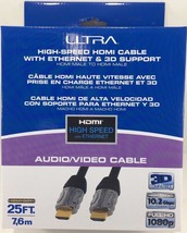 Ultra - U12-41583 - High-Speed 25FT HDMI Cable with Ethernet - $23.71