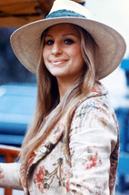 Barbra Streisand in Hat Smiling Color Poster 18x24 Poster - $23.99