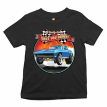 Hey Buddy Gonna Shut You Down Youth T-shirt Retro Vintage Drag Racing Ca... - $12.01+