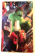 Lego Super hero Hulk Spiderman Light Switch Outlet wall Cover Plate Home decor image 1